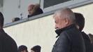 Собственикът на Локомотив Христо Крушарски в компанията на Кристиян Добрев и Александър Станков в ложите на националния стадион
