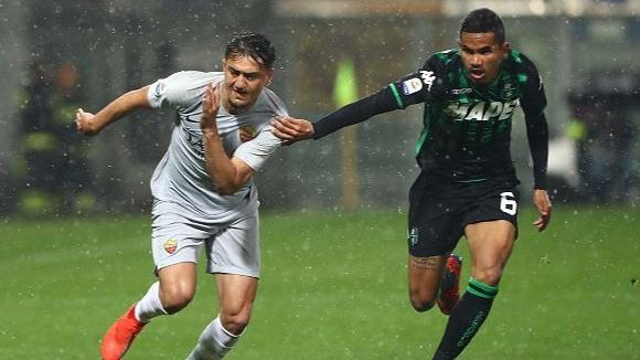 Рома остана извън топ 4 след реми със Сасуоло