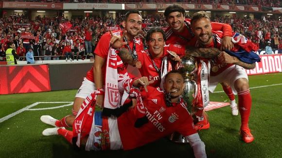 37-ма титла за Бенфика в Португалия