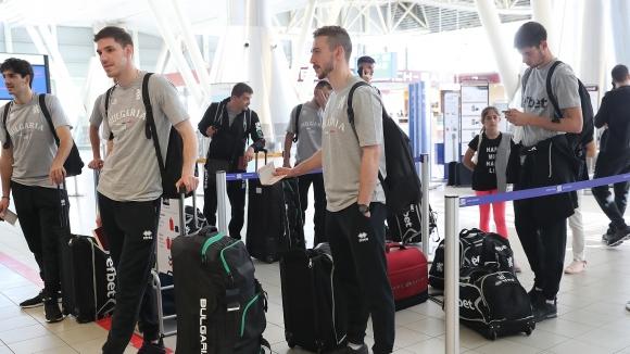 Волейболните национали отлетяха за Сърбия