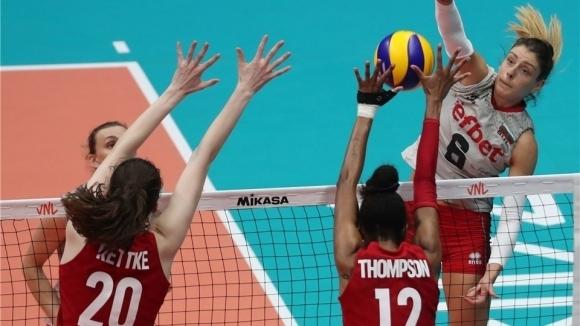 България завърши със загуба в първия турнир от Лигата на нациите