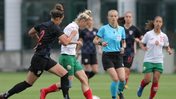 Пороен дъжд спря втората контрола между женските отбори на България и Хърватия
