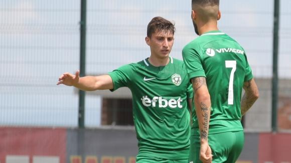 """Светослав Ковачев удвои резултата за """"орлите"""" срещу Триглав"""