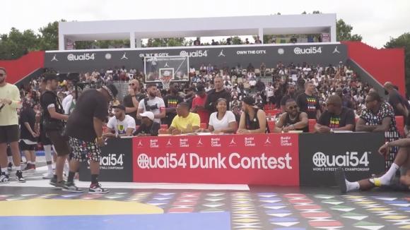 Звезди от НБА бяха съдии на конкурс за забивки