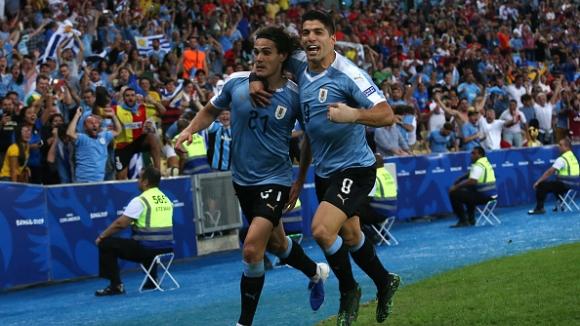 Уругвай повали шампиона на Копа Америка