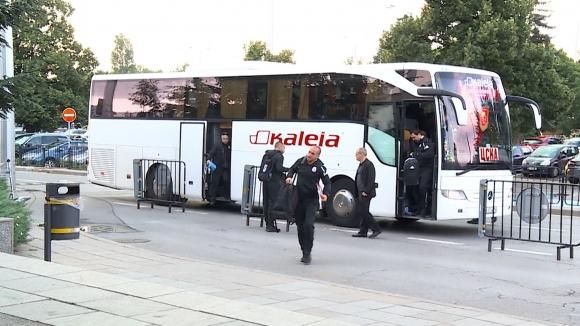 ЦСКА-София замина за Черна гора