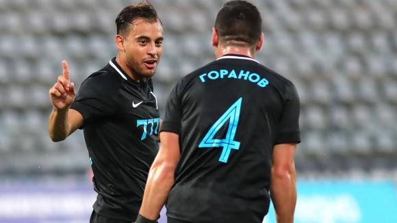 """Мариани вкара първи гол за Левски за новия сезон и даде аванс за """"сините"""" срещу Дунав"""