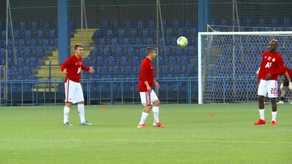 """""""Армейците"""" загряха преди решителния мач с Титоград"""