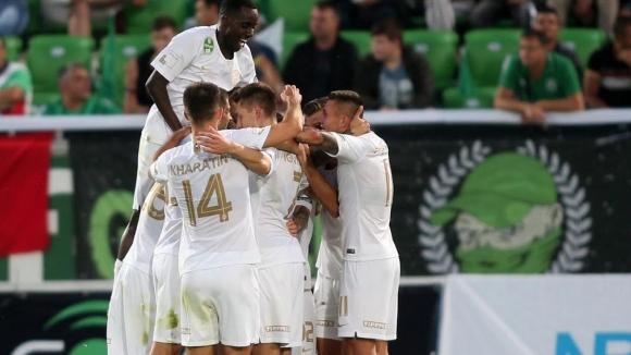 Втори гол за Ференцварош след грешка в отбраната на Лудогорец