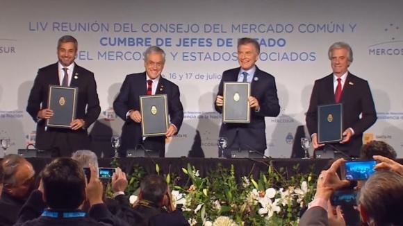 Чили се присъедини към кандидатурата на Парагвай, Аржентина и Уругвай