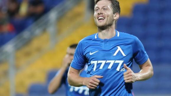 Дени Алар с невероятен дебютен гол за Левски прави резултата 2:0