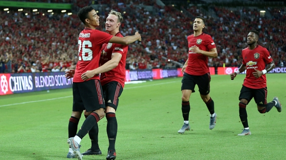 Манчестър Юнайтед с минимална победа над Интер на International Champions Cup