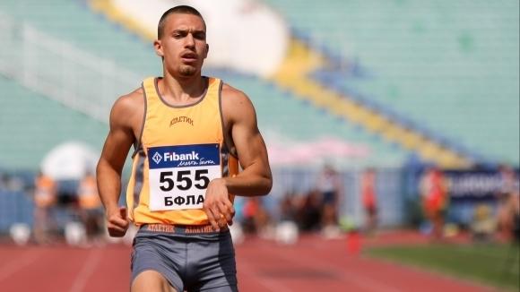Антонио Иванов е №1 на 100 метра след драма с фалстартове