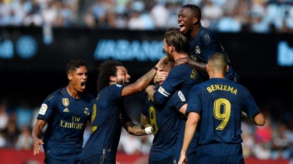 Реал Мадрид изживя тежки моменти, но стартира убедително