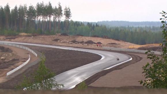 Шестима състезатели взеха участие в първите тестове на новата писта за MOTOGP във Финландия