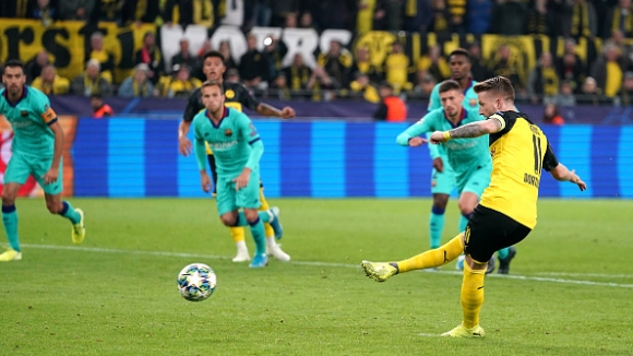 Вратарят спаси Барселона срещу Борусия (Дортмунд)
