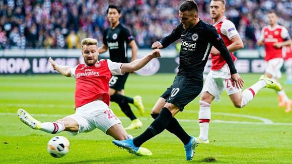 Арсенал с убедителна победа във Франкфурт