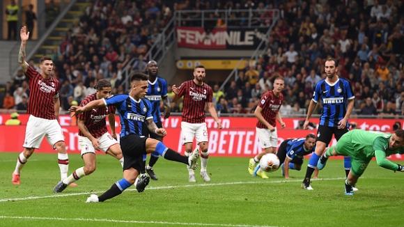 50' Милан - Интер 0:1