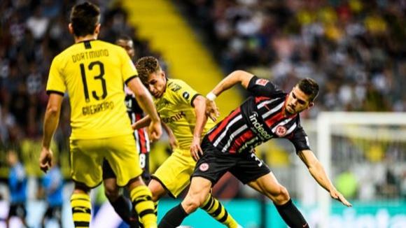 Дортмунд изпусна победата срещу Айнтрахт