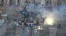 Феновете на Берое се опитват да вдигнат духа на отбора след 0:2