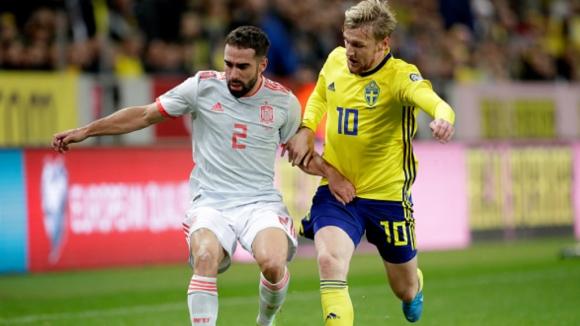Швеция - Испания 1:1