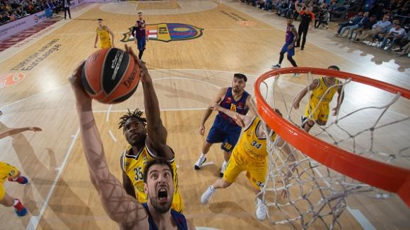 Барселона победи Алба Берлин в третия кръг на Евролигата