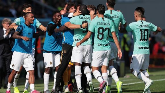 Интер се върна на победния път в Серия А