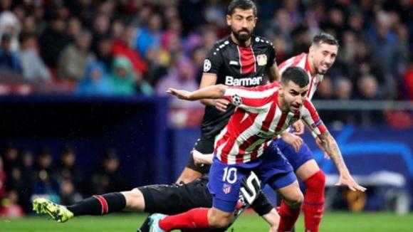 Атлетико Мадрид - Байер Леверкузен 1:0