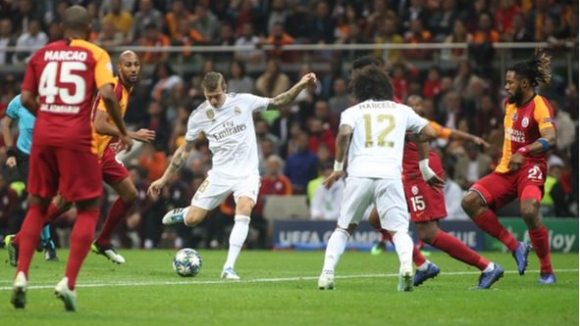 Галатасарай - Реал Мадрид 0:1