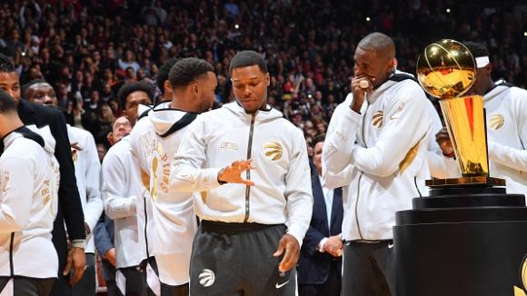 Торонто започна с победа защитата на титлата в НБА