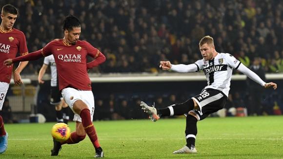 Парма спря победната серия на Рома