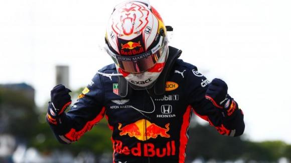 Верстапен спечели лудата надпревара в Бразилия, тотален крах за Ферари