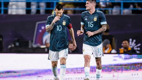Аржентина - Уругвай 2:2