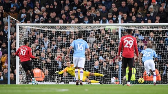 Манчестър Сити - Манчестър Юнайтед 1:2