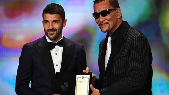 Давид Вия обра наградата за най-красив гол през сезона в Япония