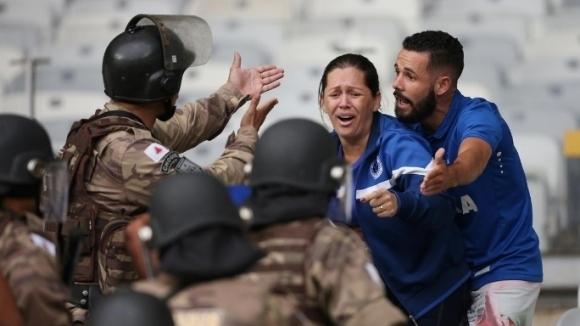 Крузейро изпадна от елита на Бразилия за първи път