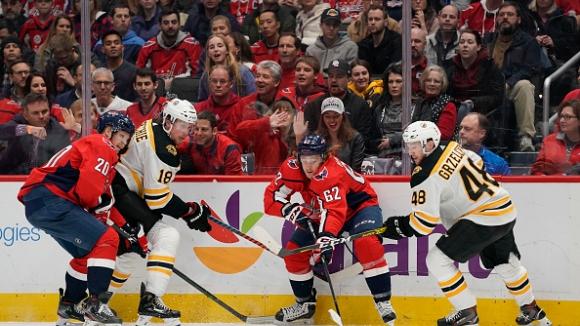 Вашингтон отново победи Бостън в НХЛ