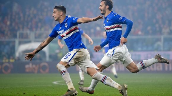 Сампдория спечели дербито на Генуа