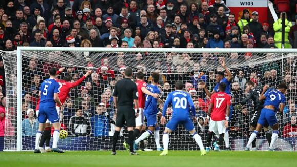 Манчестър Юнайтед - Евертън 1:1
