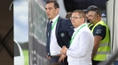 """Ивайло Йорданов и Ангел Петричев са в ложата на стадион """"Славия"""""""