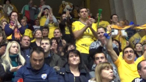 Агитката на Хебър се надява на нов успех за Купата на България по волейбол