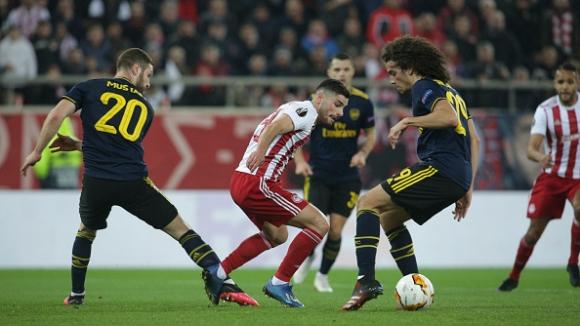 Олимпиакос - Арсенал 0:1