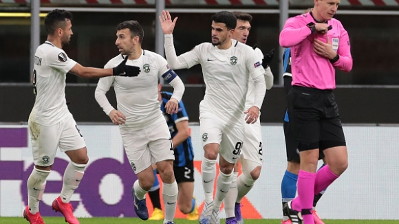 Каули Оливейра изведе Лудогорец напред в резулата срещу Интер