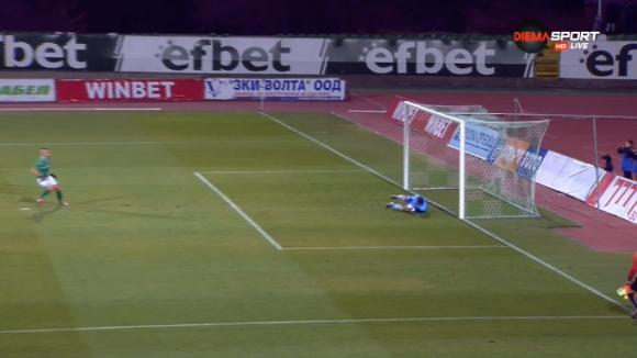 2:0 за Берое след точно изпълнена дузпа от Мартин Камбуров
