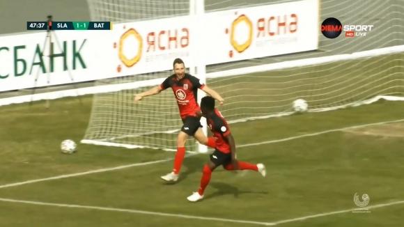 Пълен обрат за Славия срещу БАТЕ след втори гол на Мелников