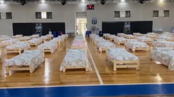 В Аржентина преогранизираха зала в болница
