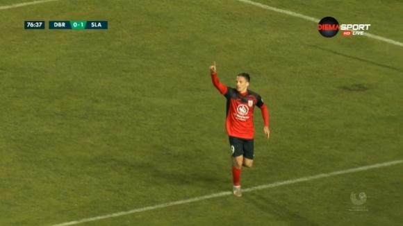 Втори гол за Славия (Мозир) в гостуването на шампиона