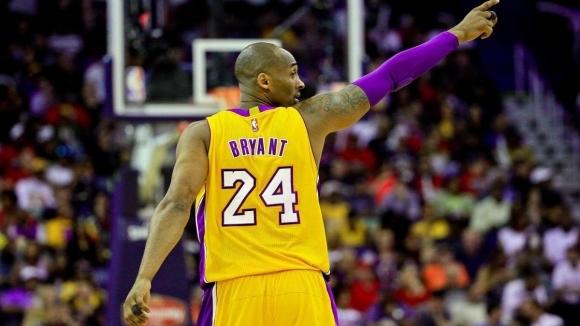 """Звездно трио начело с Коби Брайънт влиза в """"Залата на славата"""" на НБА"""