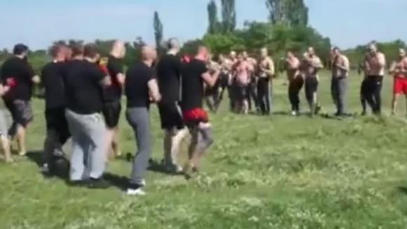 Вижте боя между феновете на Ботев и Локомотив на 24 май