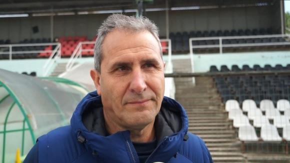 Димитър Димитров: Във всеки мач от първенството ще търсим максимума